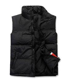 Wholesale Hot EUR USA Men s wear spring and autumn and winter men s fashion casual men and women pass down vest vest new authentic men