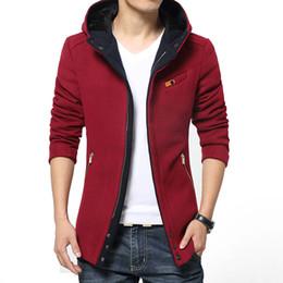 Discount Mens Red Pea Coat Jackets | 2017 Mens Red Pea Coat