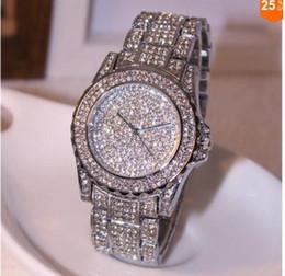 فروش ساعت مچی تمام نگینی زنانه مدل رخشانه