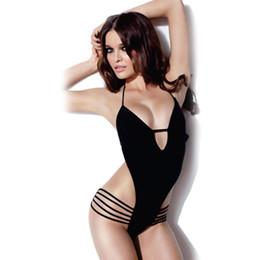 sexy one piece swim suits v neck sleeveless strap monokini swimsuit costumi da bagno donna biquinis