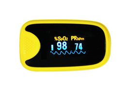 Wholesale finger Pulse oximeter OLED screen SPO2 CE Auto Power on Heart rate monitor fingertip oximetro