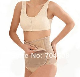 Wholesale FD471 Postpartum Tummy Waist Belt Slimming Corset Wrap Band Girdle Bodyshaper