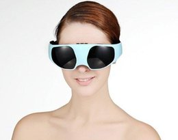 Wholesale Eye Care Health Electric Vibration Release Alleviate Fatigue Eye Massager Magnetic Therapy WBJ Hot Sale