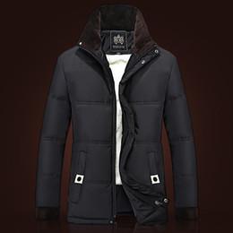 Fall-нового прибытия куртка Человек вниз куртки Плюс размер XXXL с капюшоном ватнике Мужчины Открытый Parkas Brand пальто зимой на улице Parka