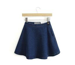 Denim Circle Skirt Online | Denim Circle Skirt for Sale