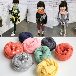 Discount baby boy wrap Baby boys girls plaid scarf Childrens autumn winter New Fashion scarf kids stars Scarves Wraps 6colors accessory