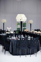 si beaux incroyables vêtements de table de paillettes brillantes font personnalisé pour votre table ronde Rectangle SALE or rose Sequin Table Runner