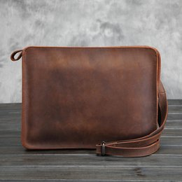 Discount Leather Office Bags For Men   2017 Fashion Leather Office ...