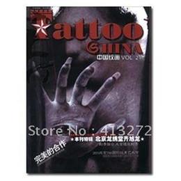 Wholesale China s grain painting the st period tattoo book tattoo magazine tattoo manuscript tattoo machine
