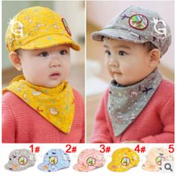 Wholesale Baby High Quality New Fashion Cute Cartoon Baby Baseball Caps Kids Hats months dandys