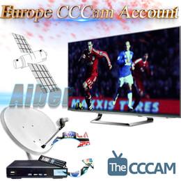 Meilleur 12 mois compte Stable en Europe Cccam IKS Cline pour Récepteur TV par satellite Sky Espagne Royaume-Uni Allemagne France Italie Pologne Maroc