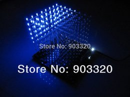 discount cheap lighting effects wholesale cheap price assembled 3d 8s led light cube with animation cheap lighting effects
