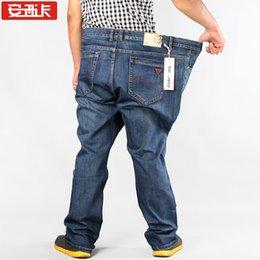 Wholesale Oversized men s jeans TOP Mens Jeans New Sales Jeans Famous Brand Beauty Men Straight Cotton Denim Jeans Large Size