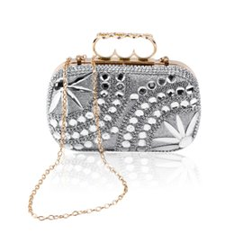 Discount Gorgeous Silver Clutches | 2017 Gorgeous Silver Clutches ...