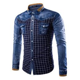 Discount Mens Denim Shirt Sale | 2017 Mens Denim Shirt Sale on ...