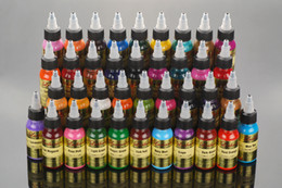 Wholesale Hot Sale Lushcolor Permanent Body Art Tattoo Ink Pigment Liquid Paint Ink With Colors