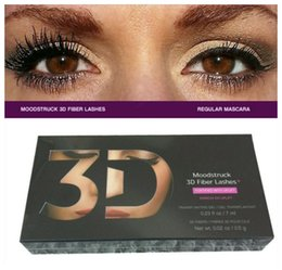 Wholesale 12sets Moodstruck D Fiber Lashes YNQ mascara Black color High quality mascaras set DHL