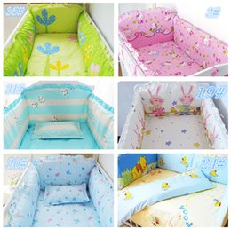 Wholesale Hot selling Baby Crib Bedding Set piece Crib Cot Bedding Set Cotton Cloths Quilt Baby Bedding Set Package Size