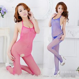 Wholesale Sexy Lingerie Women Body Intimate Sexy Fishnet Bodystocking Dress Erotic Body Stocking One Piece Backless