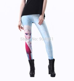 Wholesale Drop Ship Leggings Printed Women Frozen Queen Aisha Leggins Digital Printing Fitness Clothing for Women Fashion Girls Punk Pant