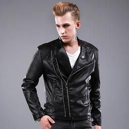 Discount Uk Leather Jackets | 2017 Leather Jackets Men Uk on Sale ...