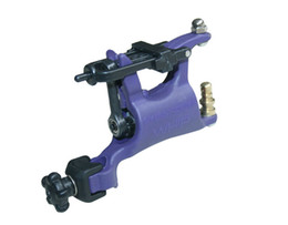 Wholesale 1 Butterfly Swashdrive Whip Machine Rotary High quality Tattoo rotary machine two color Purple and Black