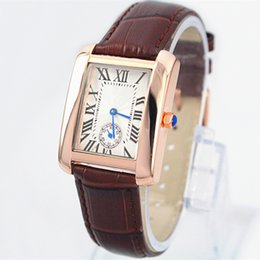 2016 Hot Sale Fashion lady watches man brown leather watch women Bracelet Wristwatches Brand female clock with box famous brand free shippin from boxing buckle suppliers