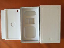 Сотовый телефон коробки Полный пакет коробки со всеми принадлежностями на iphone 4 4S iphone 5 5C 5S Iphone 6 6S Плюс 50pcs