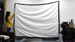 ¡Promociones de la fábrica! Alta calidad 100 pulgadas pantalla de proyección 4: 3 pantalla portátil para todo el proyector