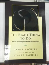 Wholesale New Arrivals The Right Thing To Do Basic Readings in Moral Philosophy Hot Sales DHL