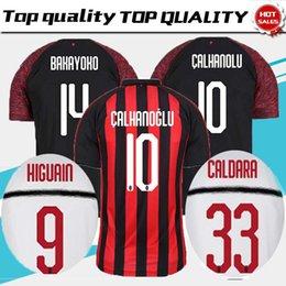 mAN MILAN 18 19 ac Milan HIGUAIN Soccer Jersey home 2018 2019 SUSO  ROMAGNOLI CUTRONE KESSIE Milan away LOCATELLI CALHANOGLU football shirt 88fb18b82