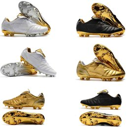 170415b726d New Football Boots Leather Tiempo Legend 7 R10 Elite FG Soccer Shoes  Plating Shoe Sole White Gold Outdoor Tiempo ACC Soccer Cleats 39-45