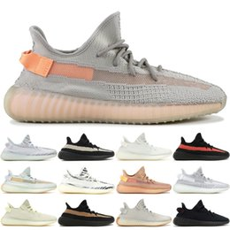 026f75cfd Kanye V2 True Form Static Running Shoes Men Women Blue Tint Black White  Beluga West Designer Shoes Sport Sneakers With Box 36-48
