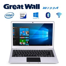 "2017 laptop Great Wall W1333A Ultraslim Laptop 13.3"" Windows 10 PC Intel Celeron N3350 2.4GHz 4GB 64GB 1920*1080 2K IPS WIFI BT LAN Notebook"