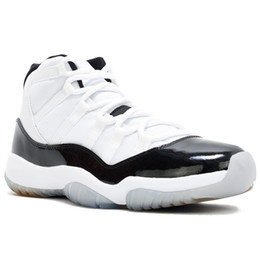 Discount golf Concord 45 11S XI Platinum Tint Men Basketball Shoes 11 Bred Space Jam Cap and Gown PRM Women Sports Sneakers US 5.5-13