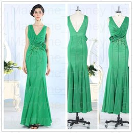 Wholesale sexy Evening Dresses Retro In time Fashoinable Elegant Prom Dresses Bridal Party Simple Evening Pageant Gowns In Stock Duoliqi D