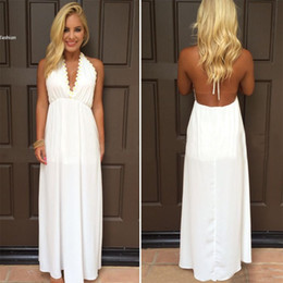 Discount White Fitted Maxi Dress | 2017 Long White Fitted Maxi ...