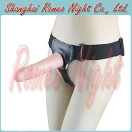 Wholesale Ultra Elastic Harness Strap On Vibrating Realistic Penis Harness Sex Toys For Couple Sex Products