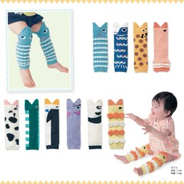 Wholesale newest Baby girl boy Leg Warmer infant Japanese style cute cartoon animal fish legwarmer leggings child socks Tights pairs