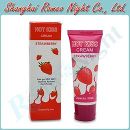 Wholesale Flavored Oral Lubricant ML Strawberry Love Sex Toys Cream Lubricants Audlt Products