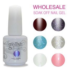 Wholesale 100pcs DOMCCO Gelish Nail Polish Long Lasting Led uv Gel Nail Polish High Quality Soak Off Nail Gel Lacquer Set