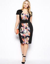Wholesale 2014 Fall Hot Sale Popular Plus Size Scoop Satin Short Sleeve Belt Flowers Knee Length Party Cocktail Homecoming Prom Dresses Evening Gown