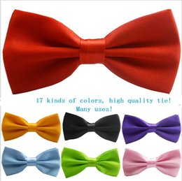 Wholesale New bow ties Formal commercial bow tie male solid color marriage for men candy color butterfly cravat bowtie butterflies