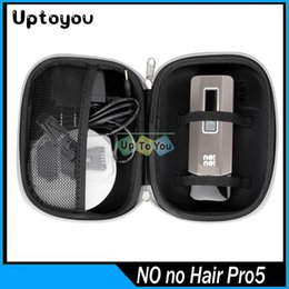 Wholesale No No Pro5 NoNo Hair Pro Hair Removal System for body PRO5 Hair Epilator Professional Hair Removal Device With Travel Case