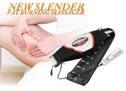 Wholesale NEW Electric Vibrating Slimming Belt Vibration Massager Belt vibra tone RELAX TONE vibrating fat burning weight loss body wraps DHL