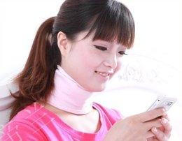 Wholesale Pink Cotton Unisex Neck SPA Scarf SPA Gel Neck Wrap Moisturizing Whitening for Neck Skin Care