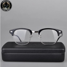 trend retro style eyeglasses frame optical eyewear best quality myopia glasses frames for men and women with original package