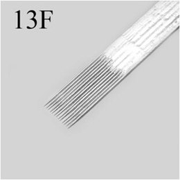 Wholesale 13F single tattoo needle coloring and a fog Silk has been sterilized medical stainless steel needle