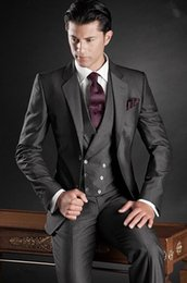 Mens Wedding Charcoal Black Suit Online | Mens Wedding Charcoal