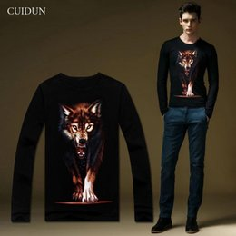 Wholesale Fashion Casual T Shirts for Men Clothing Pullovers Man Tops Long Sleeve T shirt Tee Fall